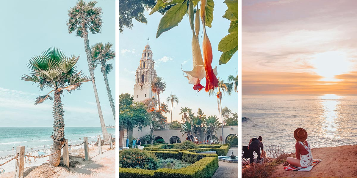 San Diego, California: beaches, Balboa Park, sunsets, and snorkelling!