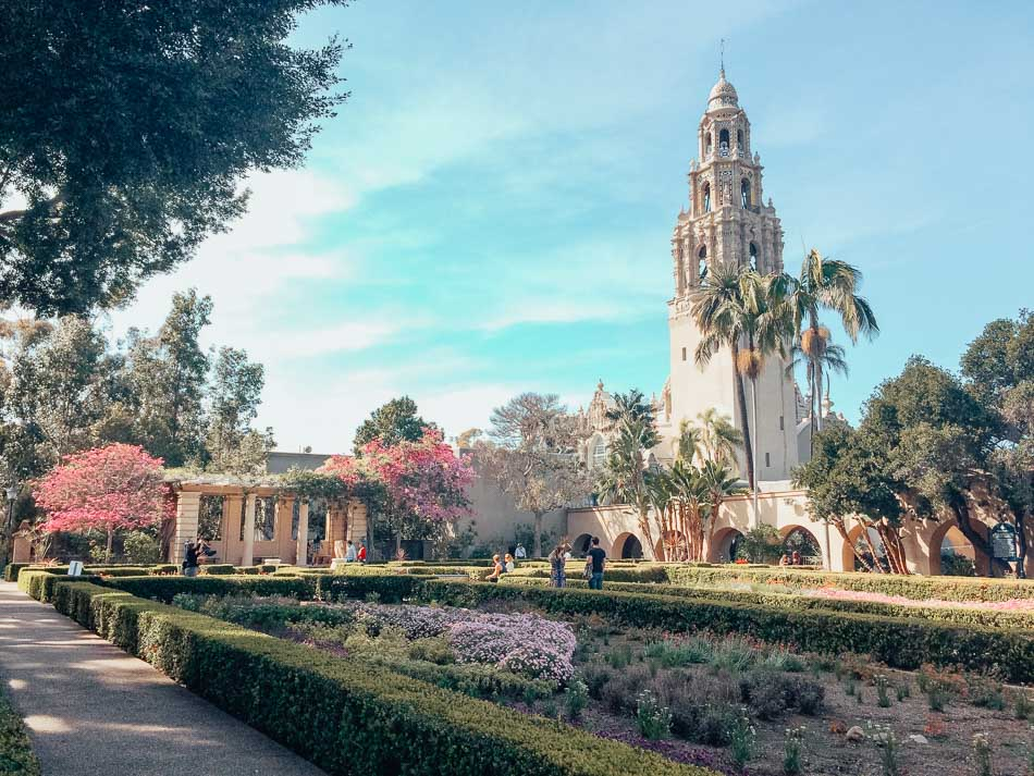 The California Tower at Balboa Park in San Diego, CA.
