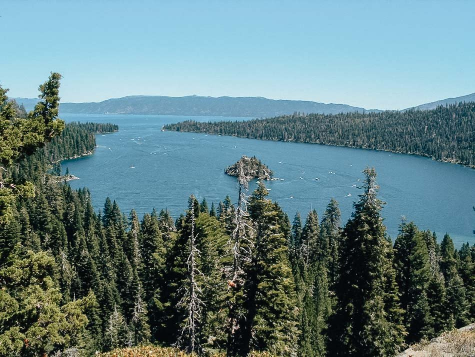 The boats out on a warm day in Emerald Bay, Lake Tahoe, CA - Flickr