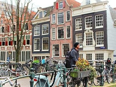 Jeremy in Amsterdam Europe