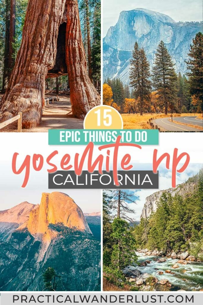 Epic things to do in Yosemite National Park! Complete Yosemite travel guide.