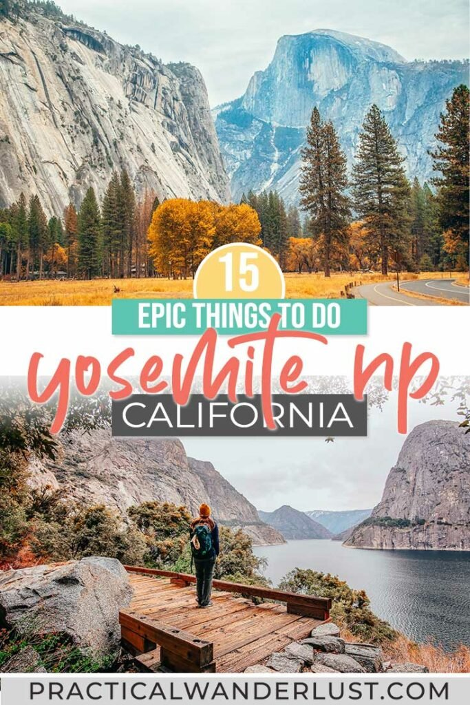 14 epic things to do in Yosemite National Park and a complete Yosemite travel guide. Yosemite NP | Yosemite National Park | Yosemite Hikes | Yosemite Things to do | Best Time to Visit Yosemite | Where to stay in Yosemite | Where to stay near Yosemite | The Best Time To Visit Yosemite NP #Yosemite #NationalParks #USATravel