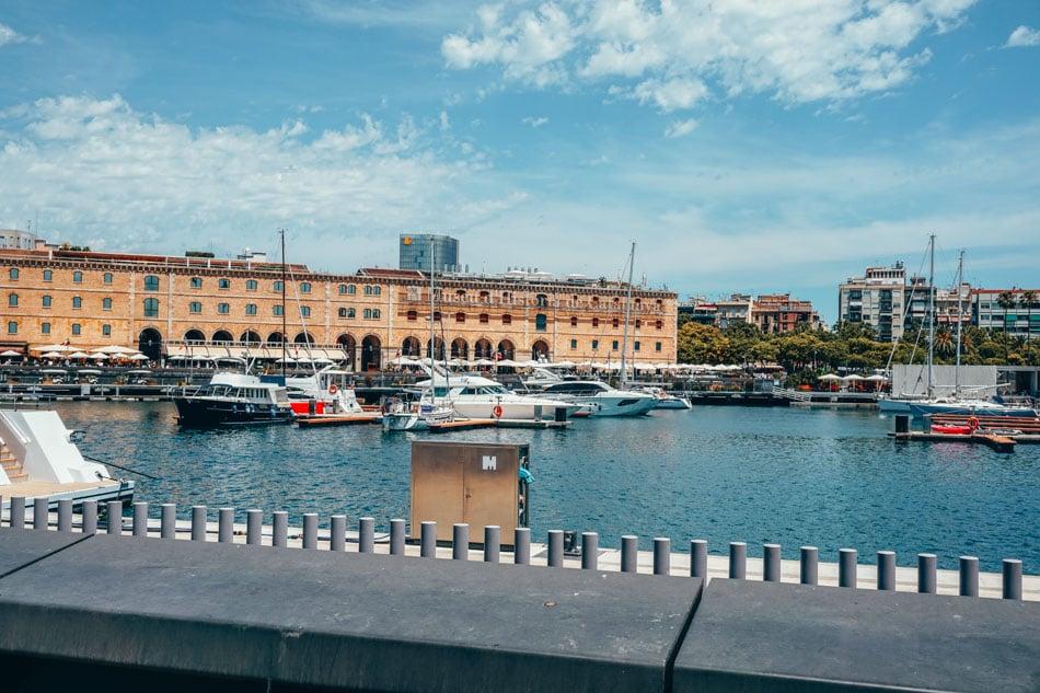 View of Museu d'Historia de Catalunya Barcelona
