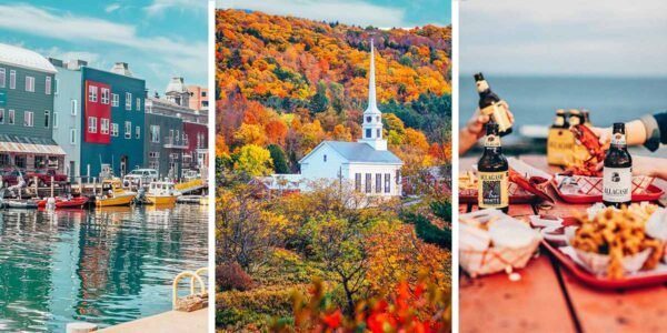 This New England road trip itinerary visits Massachusetts, Maine, New Hampshire, Vermont, Connecticut, and Rhode Island and captures as much of New England's charm, beauty, history and quirkiness as possible in ten days - with plenty of stops for witches, ghosts, and lobsters along the way.