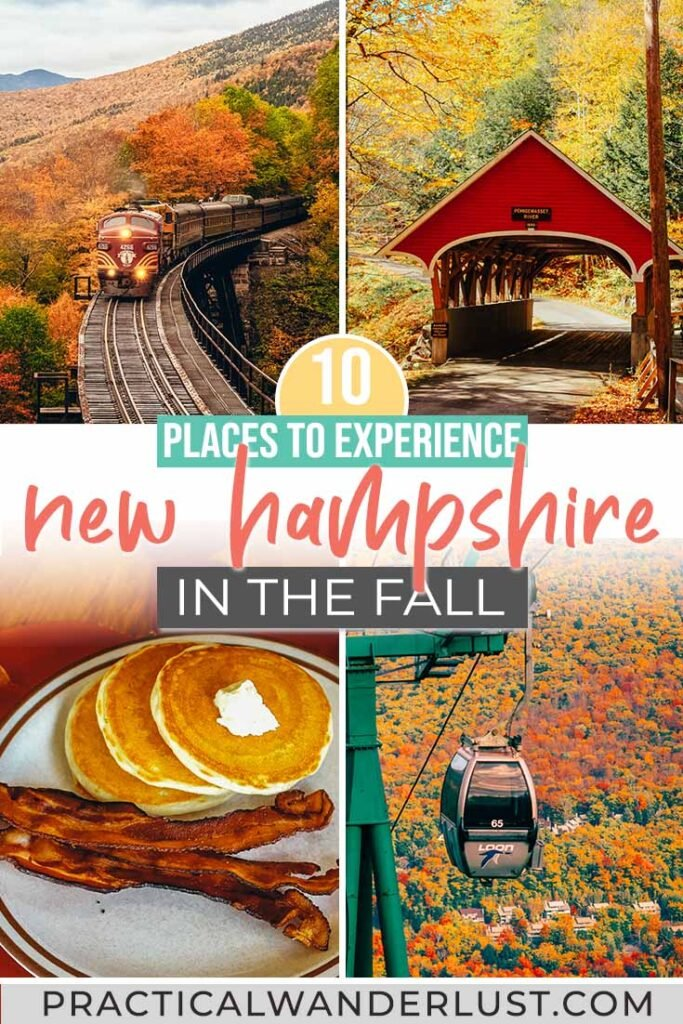 Train rides through fall foliage. Fresh apple cider. Here are the best places to experience New Hampshire fall!