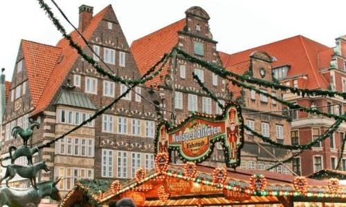 Bremen, Germany is home to some truly incredible architecture, much of which is located in its historic Old Town. Bremen in the winter is a magical time of the year!
